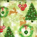 Holiday Prints - All Things Christmas in Green - by AE Nathan Co