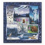 Aurora Ridge Laser-Cut Quilt Kit