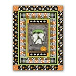 New!  Chills & Thrills Spooky Fun Glow-In-The-Dark  Quilt Kit - Includes Backing!