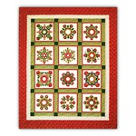 Christmas Windows 100% Cotton Blocks of the Month or All at Once Kit <br>Begins October