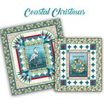 Pre-Order & Save $45.30!  Coastal Christmas Combo Quilt Kit