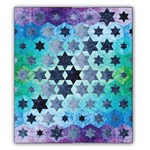 Enlighten - Cool Quilt Kit featuring Artisan Ombre Patina Handpaints Batiks!<br>Ships Early October