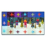 Flocks By Night Wool & Silk Wall Hanging Kit -<br><i> Free US Shipping!</i>