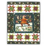 OneDay Monday -<i> Available Today Only!</i><br> Winter Wall Hanging Quilt Kit & Pillow- The Four Seasons, by In the Beginning