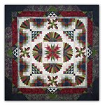 Tonga Lush Batik King Sized Block of the Month or All at Once by Wing and a Prayer - Starts August!