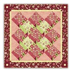 Mulberry Tree Christmas Dance Quilt