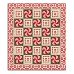 Peppermint Rally Quilt Kit