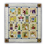 Shivery Snowmen <br>Block of the Month<br> or All at Once Quilt Kit  - Begin Anytime!