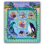 Symphony In Sea Batik Block of the Month or All at Once