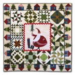 Santa's Village Flannel Block of the Month or All at Once  - Starts July!