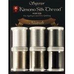 Kimono Silk Thread Neutral Collection - 6 Pack