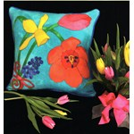 Think Spring Bouquet Pillow Kit and Free Pattern