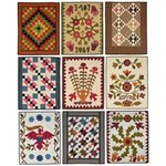 Fat Quarter Quilting - 1800's Style - by Lori Smith of From My Heart to Your Hands