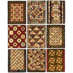 Fat Quarter Quilting - Reproduction Fabrics - by Lori Smith of From My Heart to Your Hands