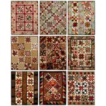 Fat Quarter Quilting - Sampler Quilts - by Lori Smith of From My Heart to Your Hands