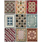 Fat Quarter Quilting - Four Fabric Quilts - by Lori Smith of From My Heart to Your Hands