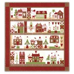 Silver Package - Mistletoe Lane Quilt Kit - Block of the Month or All at Once
