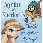 Free Agatha & Sherlock's Quilter's 2018 Thanksgiving Weekend Free Quilter's Mystery