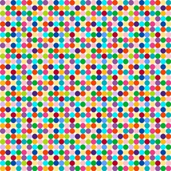 ColorWorks - Rainbow Dot-  by Deborah Edwards for Northcott