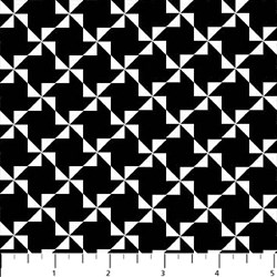 ColorWorks - Black/White Pattern- by Deborah Edwards for Northcott