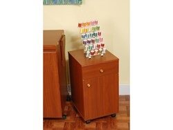 Suzi Storage Sidekick Cabinet by Arrow - Cherry