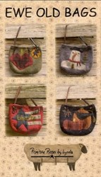 Ewe Old Bags Pattern- Primitive Pieces