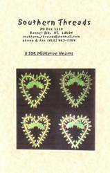 Mistletoe Hearts Pattern- Southern Threads