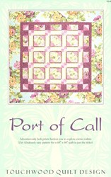 Port Of Call Pattern<br>Touchwood Quilt Design