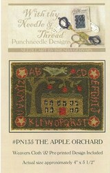 The Apple Orchard Pattern- Punchneedle Designs<br> With thy Needle & Thread