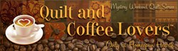 Mystery!  Quilt & Coffee Lover's Mystery - Coffee & Rummy Wall Hanging - WITH Backing