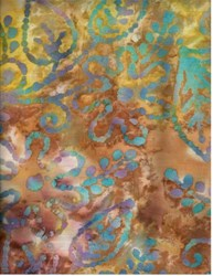 Last One!  Quilter's Basic Batik - 2 Yard Piece