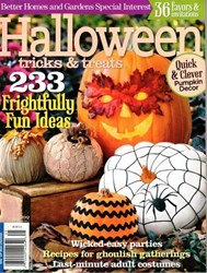 NEW FOR 2012 - HALLOWEEN by Better Homes and Gardens