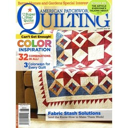American Patchwork & Quilting June 2014 - Issue 128