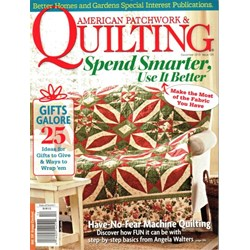 American Patchwork & Quilting December 2013 - Issue 125