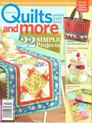 Quilts & More Summer 2012