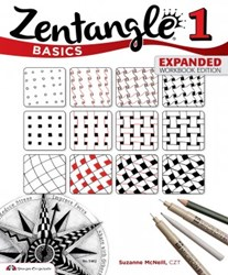 Zentangle 1 Basics, Expanded Workbook Edition, by Suzanne McNeill, CZT