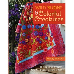 Wild Blooms & Colorful Creatures Pattern Book