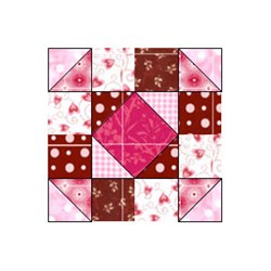 Chocolate Cherry Cordial Block - Pattern Download
