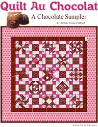 Quilt Au Chocolate - Finishing Instructions- Pattern Download