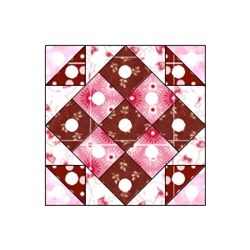 Chocolate Truffles Block - Pattern Download