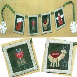 Mini Christmas Swag Pattern by Fig 'n' Berry Creations