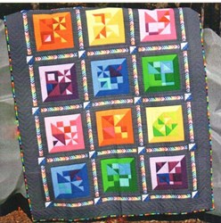 Square Cut Quilt Pattern by Whirligig Designs