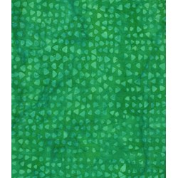 Anthology Hand Made Batik - Green Geometric