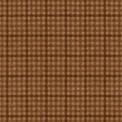 "9"" Remnant - Remnant- Woolies Flannel -Brown Check by Maywood Studios"