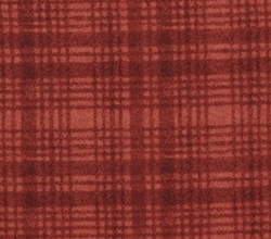 "20"" Remnant- Woolies Flannel -Red tonal Grid- by Maywood Studios"