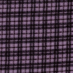 "END OF BOLT - 48"" - Violet  Plaid - Woolies Cotton Flannel"