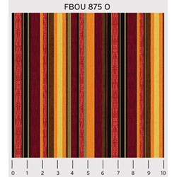 Fall Bounty Metallic Fabric - Stripes - by P&B Textiles