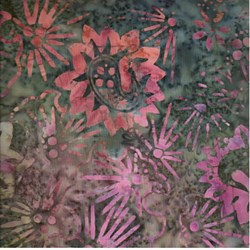 Indo Batiks - Dark Floral - by A.E.Nathan Co