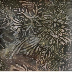 Indo Batiks - Earth Floral - by A.E.Nathan Co