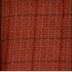 Need'l Love Wools - Orange & Brown Plaid - by Renee Nanneman for Andover Fabrics